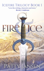 Fire and Ice Icefire Trilogy Book 1 Patty Jansen